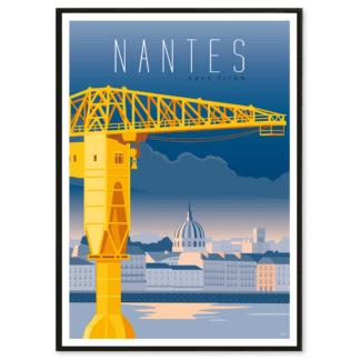 Affiche Nantes