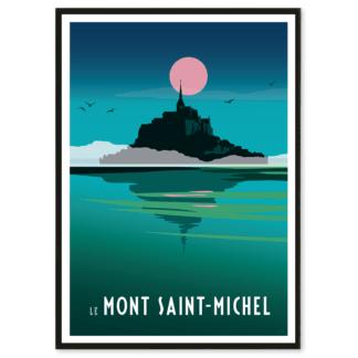 Affiche décorative du Mont Saint-Michel